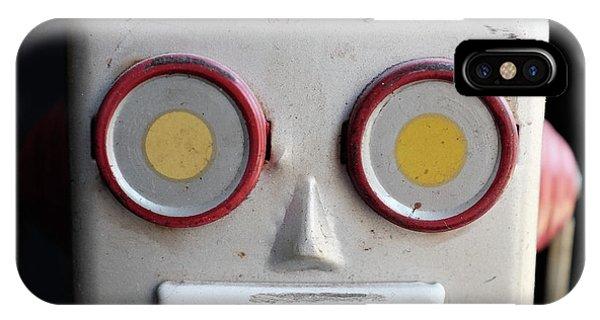 Vintage Robot Square IPhone Case