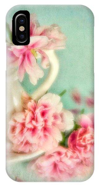 Vintage Romantic Peonies IPhone Case
