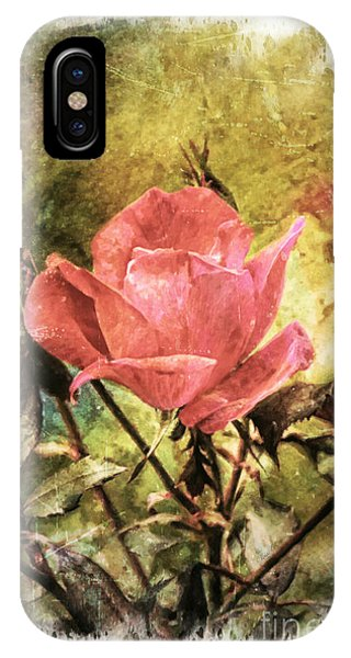 Vintage Rose IPhone Case