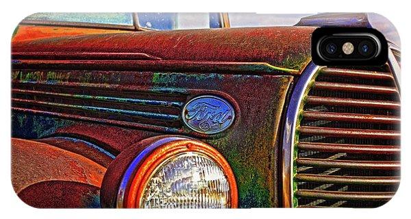 Vintage Rust N Colors IPhone Case