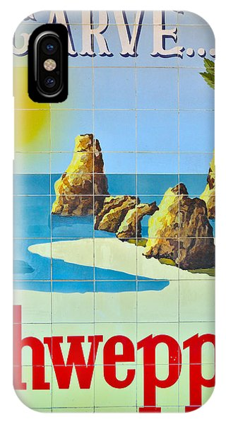 Vintage Schweppes Algarve Mosaic IPhone Case