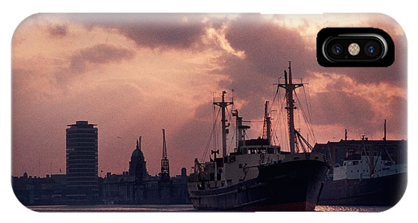 Vintage Shot Of The Guinness Boat Lady IPhone Case