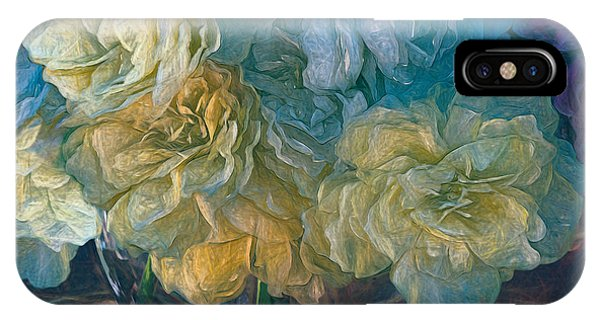 Vintage Still Life Bouquet By Olena Art IPhone Case