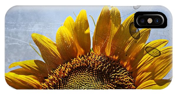 Vintage Sunflower- Fine Art IPhone Case