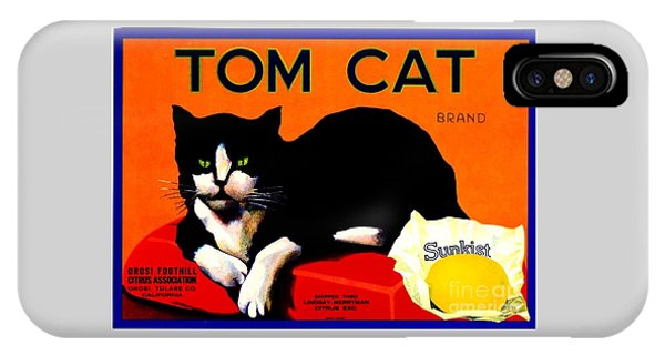 Vintage Sunkist Tom Cat IPhone Case
