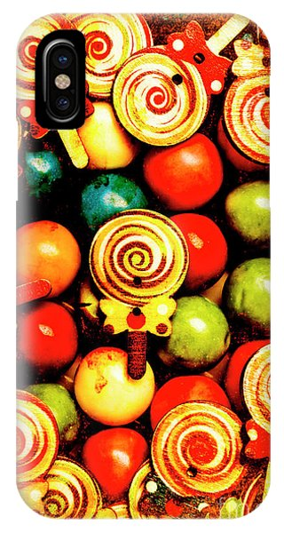 Mixed iPhone Case - Vintage Sweets Store by Jorgo Photography - Wall Art Gallery