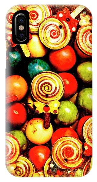 Vintage Sweets Store IPhone Case