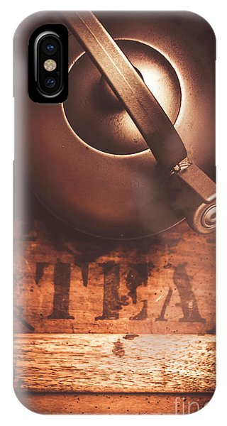 Kettles iPhone Case - Vintage Tea Break by Jorgo Photography - Wall Art Gallery