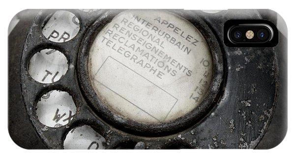 Vintage Telephone IPhone Case
