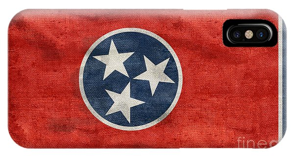 Vintage Tennessee Flag IPhone Case