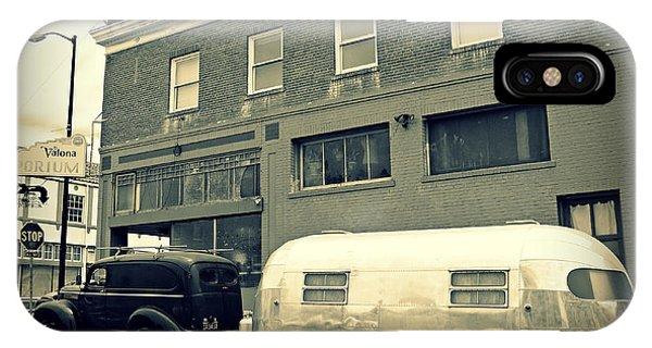 Vintage Trailer In Crockett IPhone Case