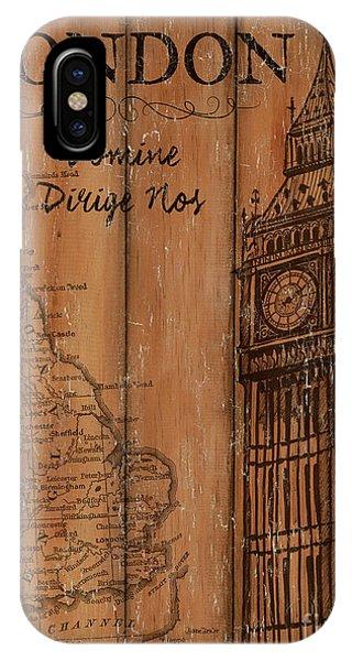 Vintage Travel London IPhone Case