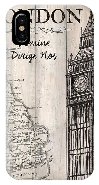 Vintage Travel Poster London IPhone Case