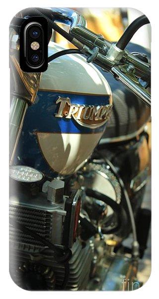 Vintage Triumph  IPhone Case