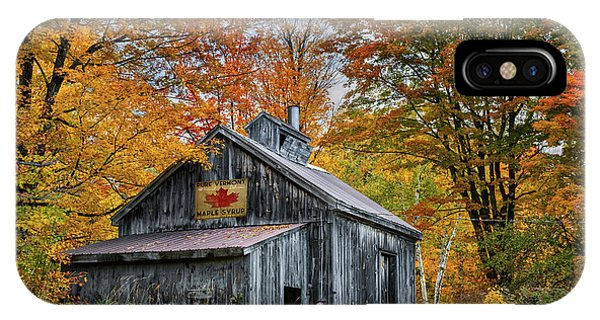 Vermont Sugarhouse IPhone Case