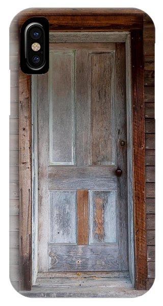 Vintage Wood Door  IPhone Case