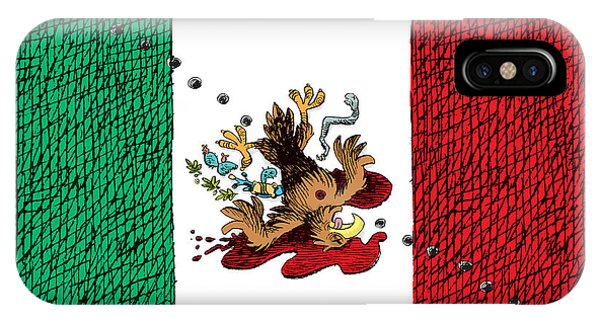 Violence In Mexico IPhone Case