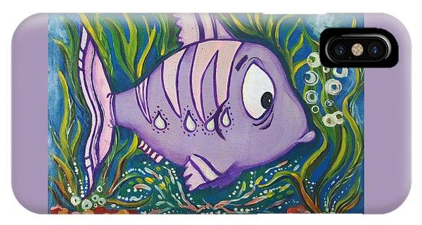 Violet Fish IPhone Case