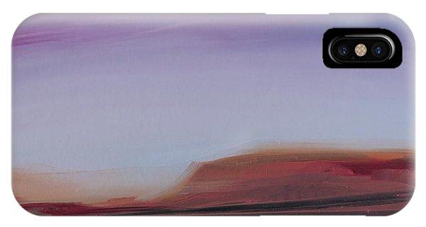 Violet Skies IPhone Case