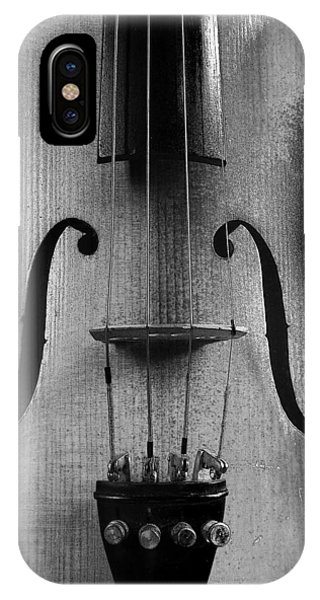 Violin # 2 Bw IPhone Case