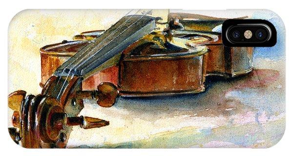 Violin 2 IPhone Case
