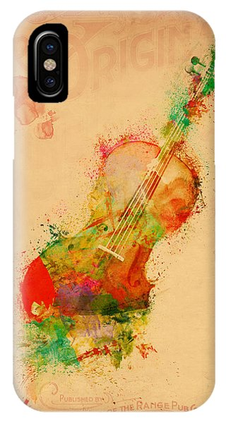 Layered iPhone Case - Violin Dreams by Nikki Marie Smith