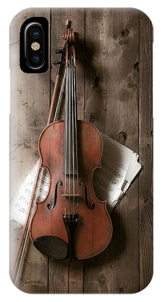 Violin iPhone Case - Violin by Garry Gay