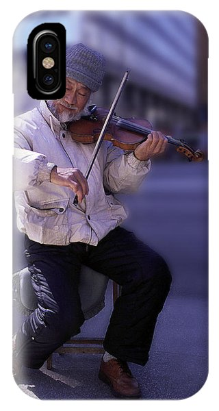 Violin Guy IPhone Case