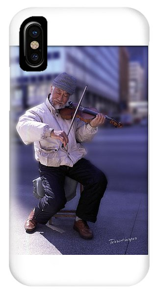 Violin Guy IPhone Case