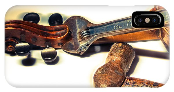 Violin Repair  Phone Case by Steven Digman