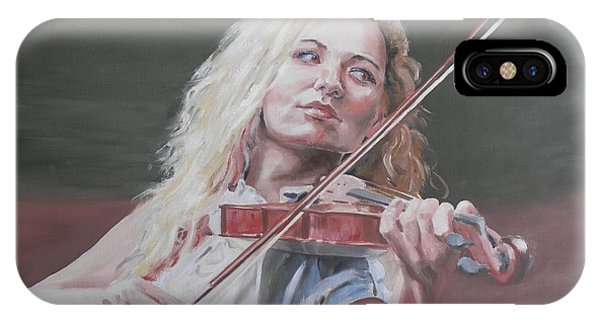 Violin Solo IPhone Case