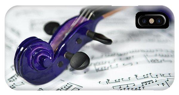 Violin Tuning Pegs  IPhone Case
