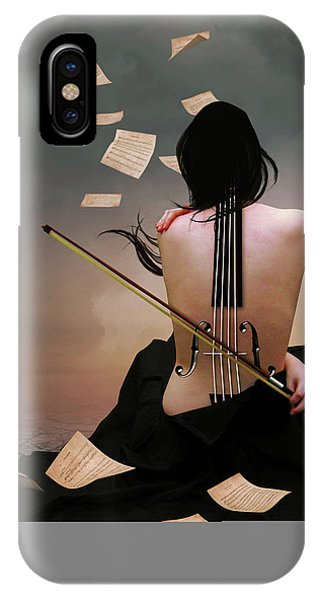 Violin Woman IPhone Case