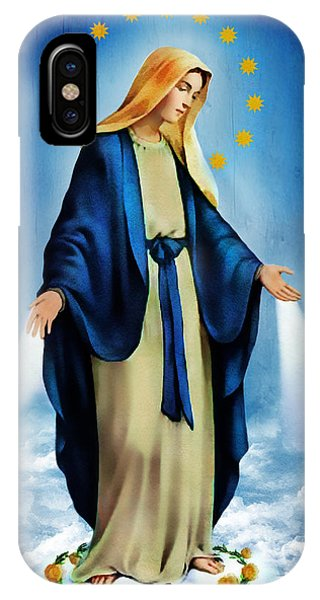Virgen Milagrosa IPhone Case