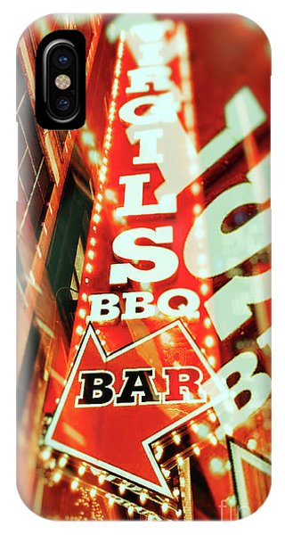 Virgils Real Bbq New York City IPhone Case