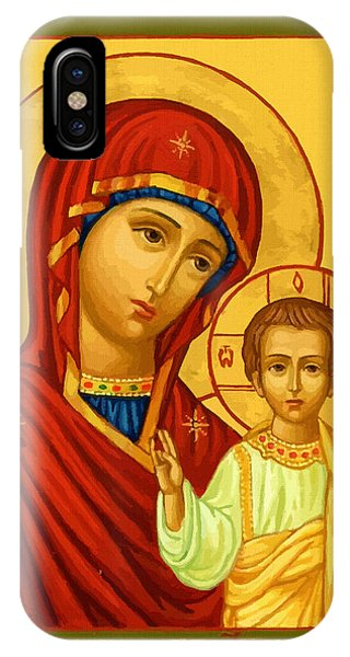 Virgin And Child IPhone Case
