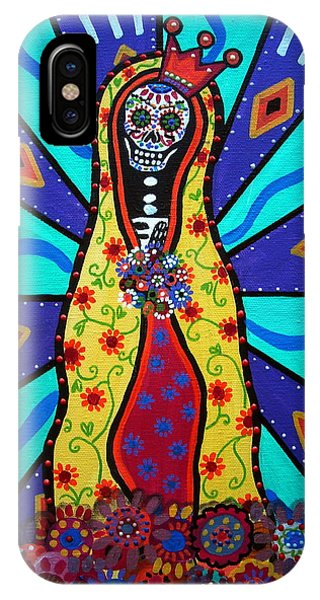 Virgin Guadalupe Day Of The Dead IPhone Case