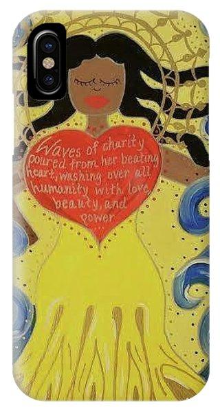 Virgin Of Caridad Phone Case by Angela Yarber
