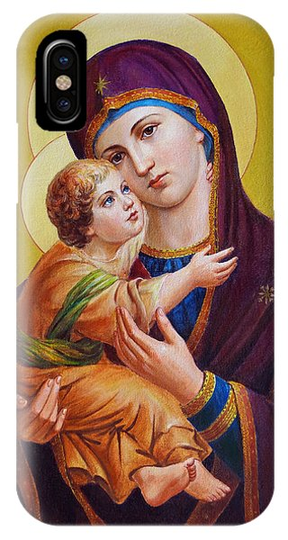 Virgin Of Silver Spring - Theotokos IPhone Case