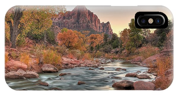 Virgin River And The Watchman IPhone Case