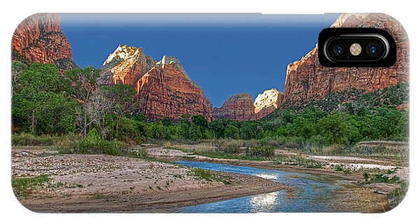 Virgin River Bend IPhone Case