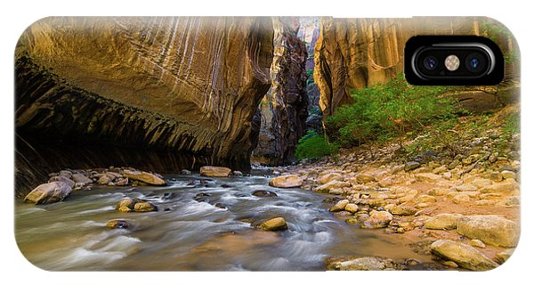Virgin River - Zion National Park IPhone Case