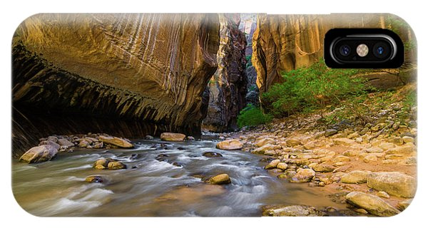 Virgin River - Zion National Park IPhone Case