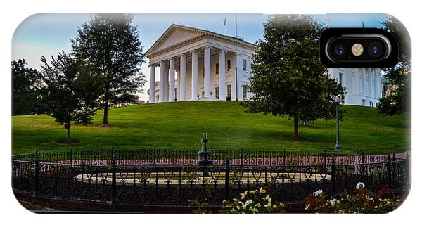 Virginia Capitol Building IPhone Case