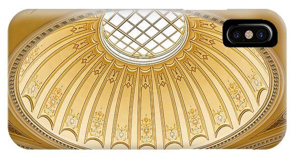 Virginia Capitol - Dome Profile IPhone Case