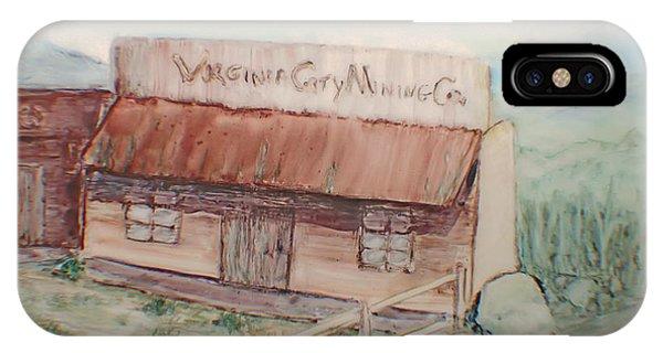 Virginia City Mining Co. IPhone Case