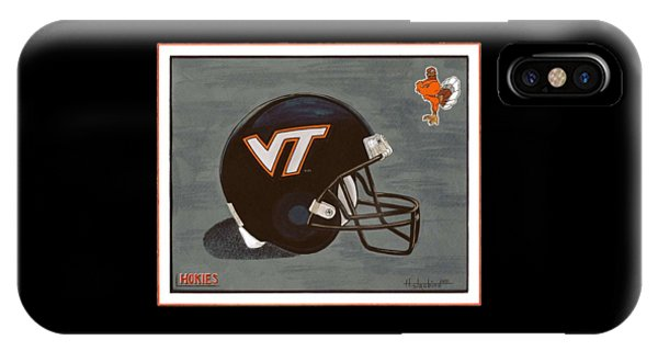 Virginia Tech T-shirt IPhone Case