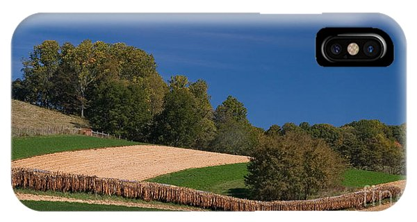 Virginia Tobacco Farm IPhone Case