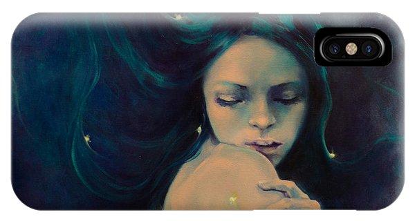 Astral iPhone Case - Virgo by Dorina  Costras