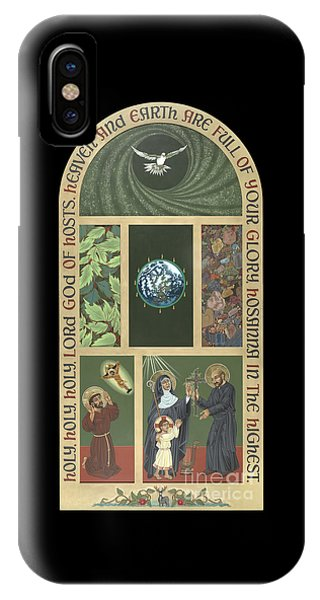 Viriditas - Finding God In All Things IPhone Case